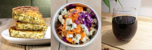 La Formule Quiche / Salade / Boisson