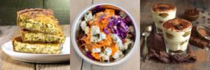 La Formule Quiche / Salade / Dessert