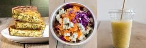 La Formule Quiche / Salade / Smoothie